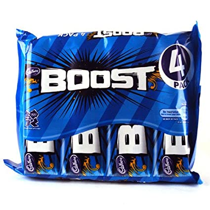 Cadbury Boost Chocolate Coconut Bar 4 Pack