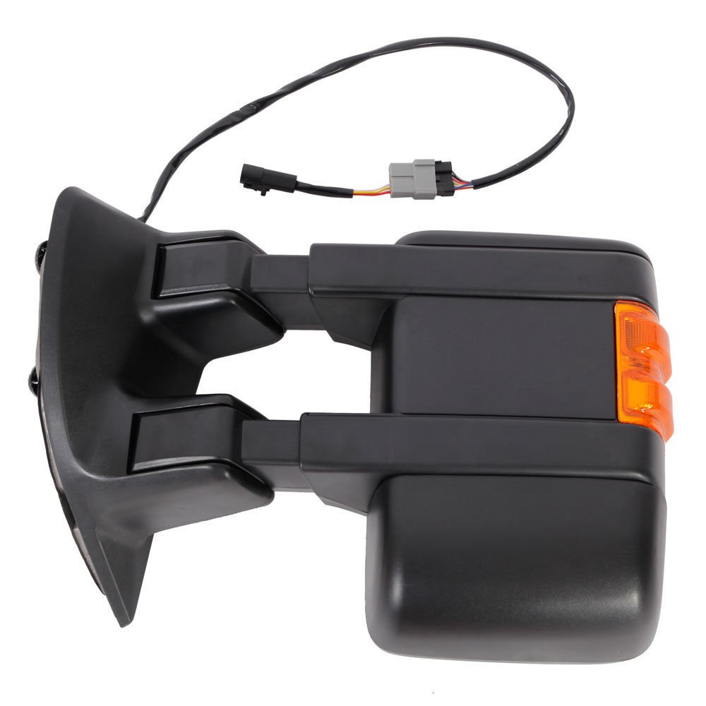 Upgrade Ford Towing Mirrors For 99 07 F250 F350 2008 Super Duty Mirror Wiring Diagram F450 F550 Tow Power Heated With Signal Light Both Driver And Passenger