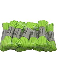 12 Pair Pack proATHLETIC(tm) OVAL Shoelaces Bulk pack TEAMLACES(tm) Support Cancer Awareness!