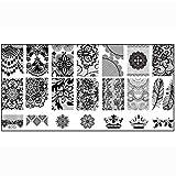 Susenstone® 1PCS Nail Stamp Stamping Image Plate Print Nail Art Template DIY