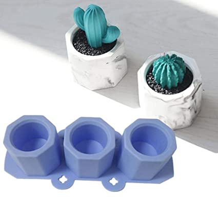 Inciple 2019 DIY olla de cemento Fabricación de moldes Hechos a mano Elaboración artesanal de arcilla