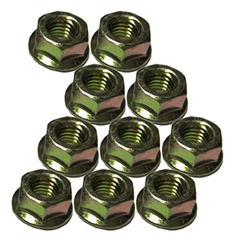 Husqvarna Craftsman Poulan Chainsaw (10 Pack) Replacement Bar Mount Nut # 530015917-10pk ()