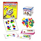 MightyMind Set Of 2 Learning Puzzle Games And A Bonus Bag: Extra Tiles(32) And A Bonus Bag