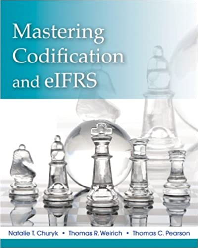 GO Downloads Mastering FASB Codification and eIFRS: A Casebook Approach by Natalie Tatiana Churyk