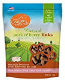 Canine Naturals – Natural Pork n' Berry Links – Grain-Free Dog Treats – 6 oz. Package