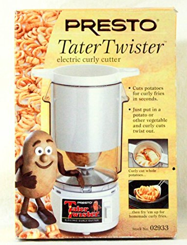 - Presto Tater Twister Electric Curly Fry Cutter