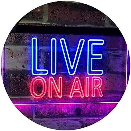 ON AIR Neon LED Light Sign Bar Pub **QUALITY** Display Recording Studio Sound