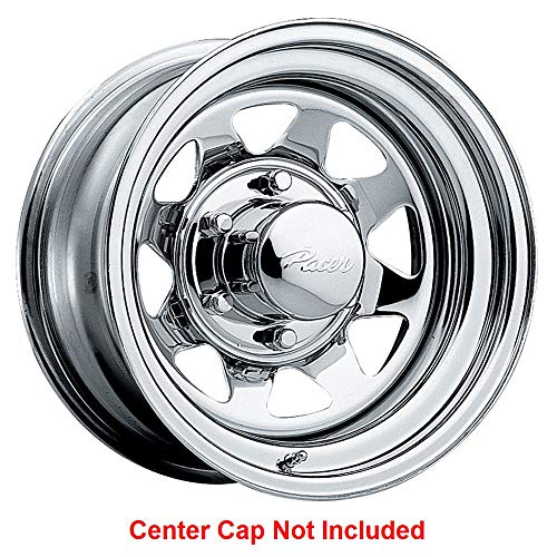 PACER 315C Spoke Rim 15X7 5x5.5 Offset -6 Chrome (Quantity of 1)