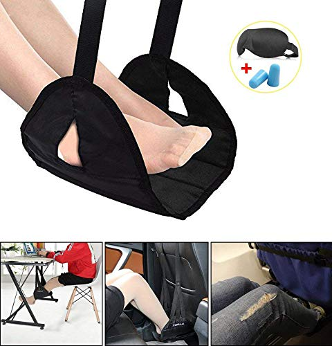 Footrest/Sling for Airplane Travel