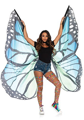 Leg Avenue Women's Costume, Blue/Black O/S ()