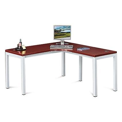 Best corner desk Office Desks Image Unavailable Pinterest Amazoncom Laminate Top Corner Desk 60