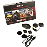 UCLEAR Digital HBC100 Plus Bluetooth Helmet Audio System - Single Kit