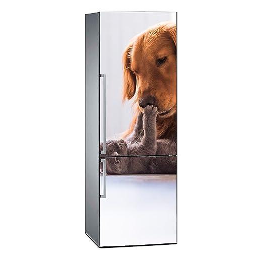 Oedim Vinilo para Frigorífico Perro y Gato | 200 x 70 cm ...