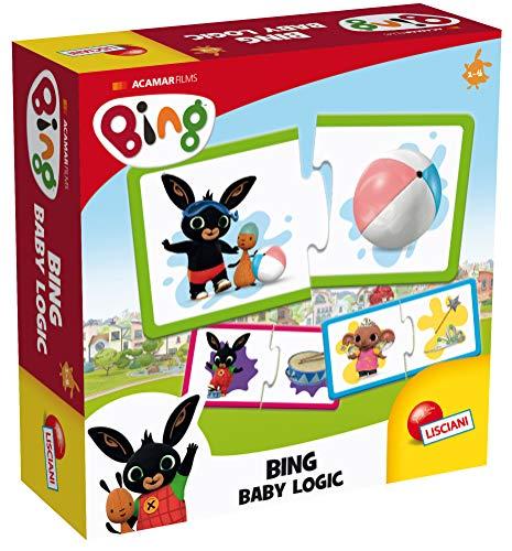 Lisciani Giochi Bing 74679 Games Logic Puzzle Multi-Coloured
