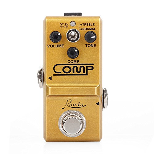 Rowin Comp Pedal 콤프레샤 이펙터 페달 이펙트 투 루 바이패스 LN-333