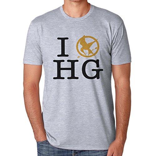 I Love Hunger Games Herren T-Shirt