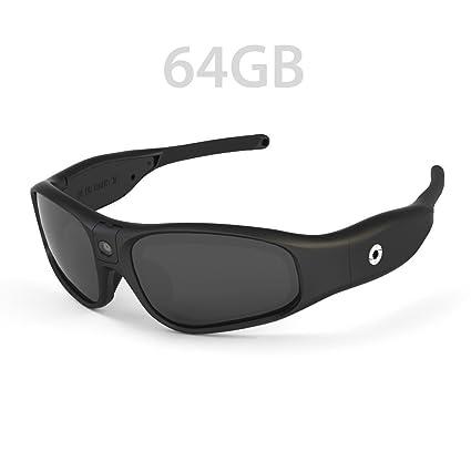 4d553f608bfe Amazon.com   iVUE Rincon 1080P HD Camera Glasses Video Recording Sport  Sunglasses DVR Eyewear (Tilt Lens
