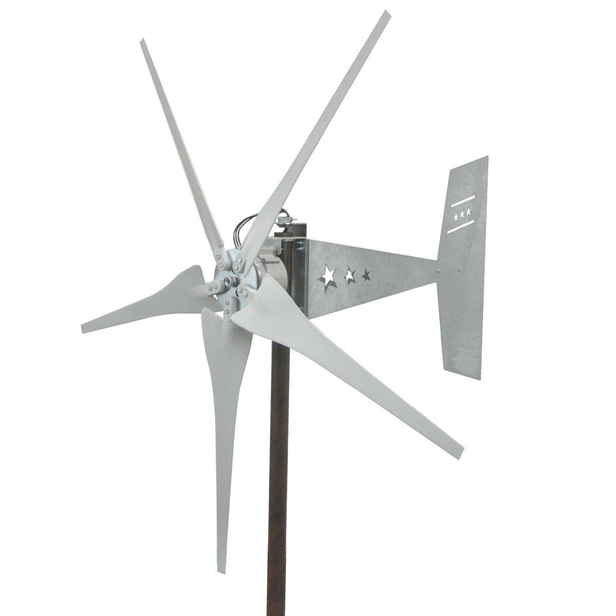 Amazon missouri freedom 5 blade wind turbine generator 12 amazon missouri freedom 5 blade wind turbine generator 12 volts garden outdoor pooptronica Choice Image