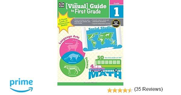 The Visual Guide to First Grade: Thinking Kids, Carson-Dellosa ...