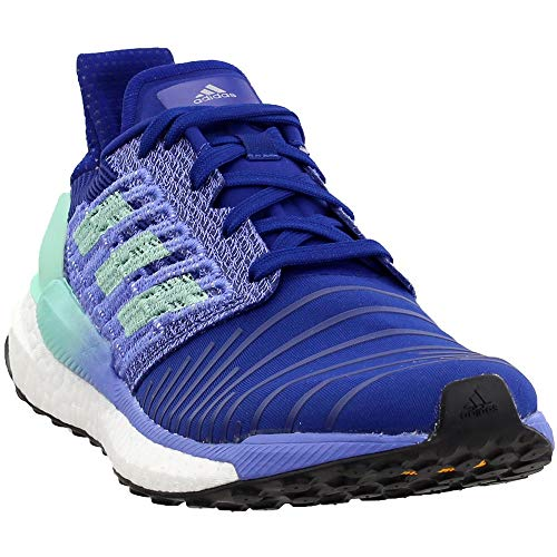 adidas Women's Solar Boost Running Shoe, Mystery Ink/Clear Mint/Real Lilac, 8.5 M US