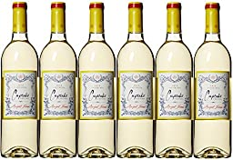 2015 Cupcake Vineyards Angel Food Pack, 6 x 750 mL White Blend Wine