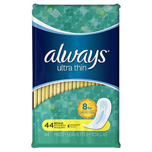 always-ultra-thin-regular-without-wings-thin-pads-44-count-pack-of-3
