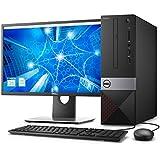 Desktop Dell Vostro VST-3470-A10M 8ª Geração Intel Core i3 4GB 1TB Windows 10 Pro TPM 2.0 Monitor