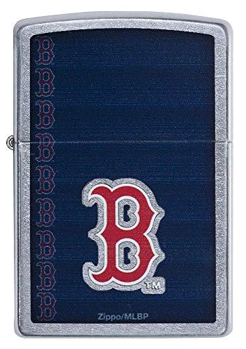 (Zippo MLB Red Sox Street Chrome)
