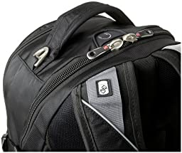 SwissGear SA9769 Black Laptop Backpack - Fits Most 15 Inch Laptops and Tablets