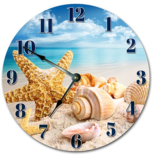 Beach Clock Large 10.5