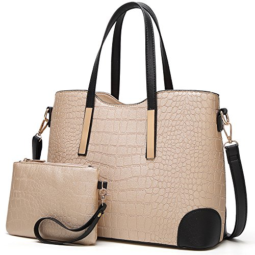 YNIQUE Satchel Purses and Handbags for Women Shoulder Tote Bags Wallets by YNIQUE