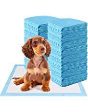 HAPPAWS Pee Pads for Dogs, 5-Layer Leak-Proof Puppy Pads Pet Training Pads for Dogs and Cats, Disposable Strong Absorption Pads for Doggie Kittens Rabbits