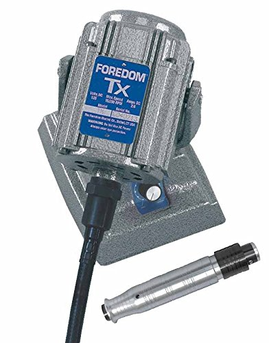 FOREDOM Flex Shaft Motor Square Drive Built-in Dial Control M.TXMH & H.44HT HDP