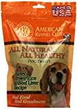 American Kennel Club All Natural All Healthy Dog Treat In Barley, Brown Rice And Beef Liver Recipe