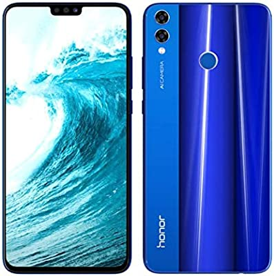Honor 8X Dual SIM - 128GB, 4GB RAM, 4G LTE, Blue: Amazon com
