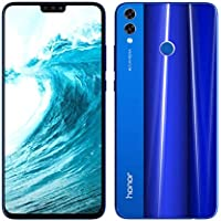 Honor 8X Dual SIM - 128GB, 4GB RAM, 4G LTE, Blue