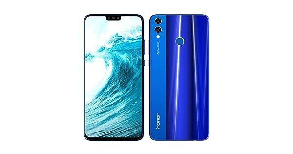 Honor 8X Dual SIM - 128GB, 4GB RAM, 4G LTE, Blue: Amazon com