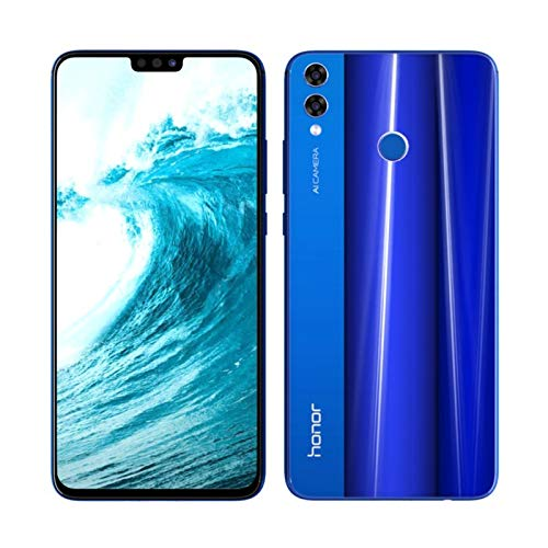 Honor 8X Dual SIM 128GB 4GB RAM 4G LTE - Blue