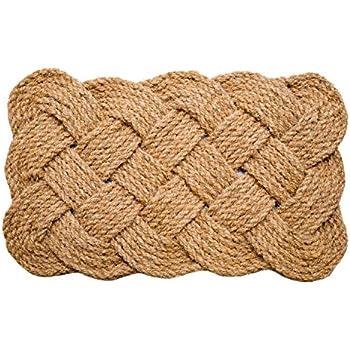 Amazon Com Kempf Half Round Dragon Coco Coir Doormat 18