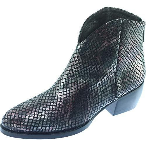 Bordeaux Govi Pointures Western Reptile Façon Can Bottines Plumers bordeaux Femme Gris Tiag Petites Marque Chaussures Style C Cuir wZB5v