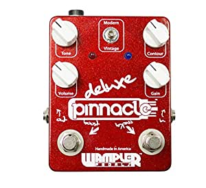 Wampler Pedals PINNACLEDELUXE AMP in a Box Pinnacle Deluxe Distortion Pedal