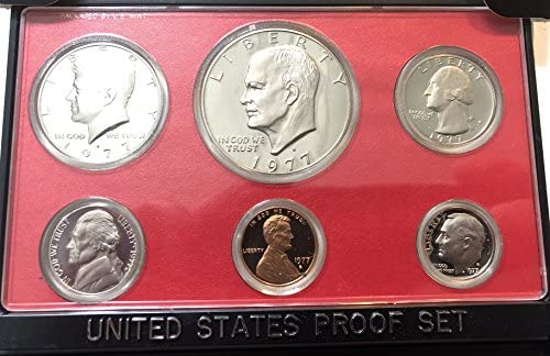 2009-S US QUARTER PROOF SET ORGINAL MINT PACKAGING 6 GEM Proof Coins
