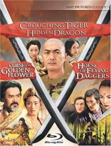 Crouching Tiger Hidden Dragon / Curse of the Golden Flower / House of Flying Daggers Trilogy [Blu-ray]
