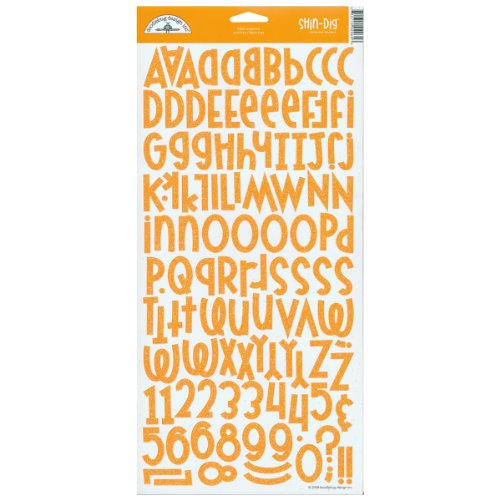 - DOODLEBUG Shin-Dig Cardstock Alphabet Stickers 6