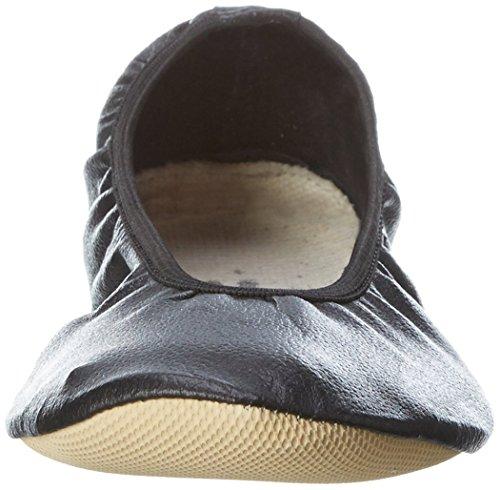 Lico G1 - Zapatillas deportivas para interior de cuero infantil negro - negro