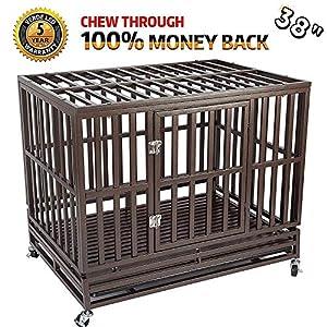 5. Haige Pet Your Pet Nanny Metal Dog Cage