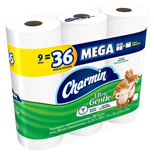 Charmin Ultra Gentle Toilet Paper Mega Rolls 36 Count