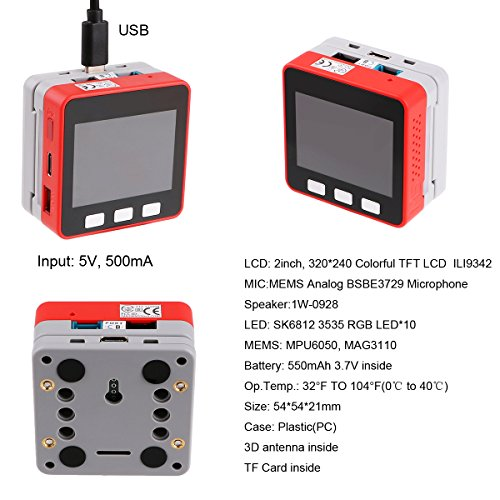 MakerFocus M5Stack FIRE IoT Kit 240MHz Dual Core ESP32