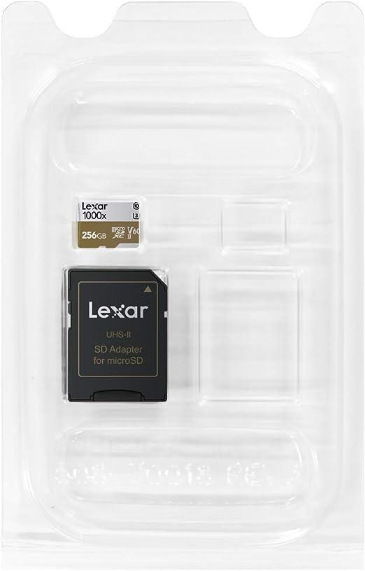 Lexar Professional 1000x Microsdxc Uhs Ii Karten 256gb Computer Zubehör