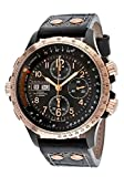 Hamilton H77676733-Sd Men's Khaki X-Wind Automatic Chronograph Black Dial Black Leather Watch